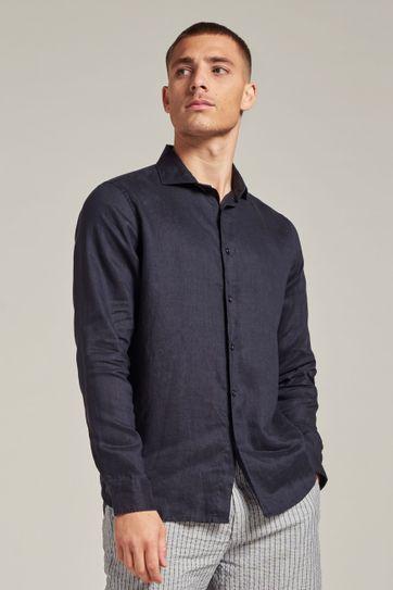 Dstrezzed Overhemd Jagger Donkerblauw