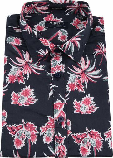 Dstrezzed Overhemd Pineapple Navy