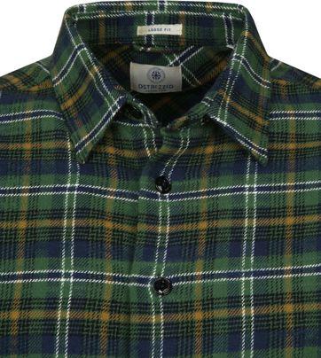 Dstrezzed Overhemd Ruit Groen