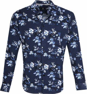 Dstrezzed Overhemd Twill Bloemen