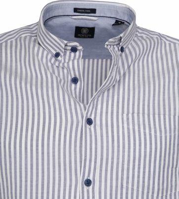 Dstrezzed Overhemd Twin Stripe Blauw