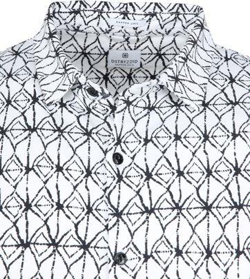 Dstrezzed Overhemd Wit Print