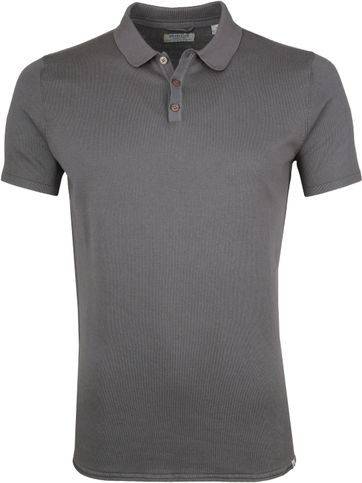 Dstrezzed Polo Acid Dark Grey
