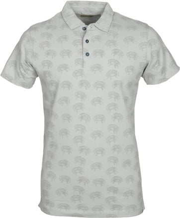 Dstrezzed Polo Crab Grey