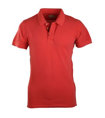 Detail Dstrezzed Polo Rood