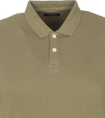 Dstrezzed Polo Shirt Army Green