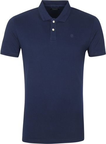 Dstrezzed Polo Shirt Bowie Navy