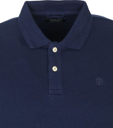 Dstrezzed Polo Shirt Bowie Navy