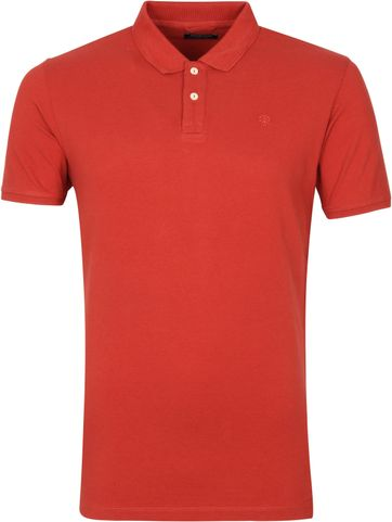 Dstrezzed Polo Shirt Bowie Red