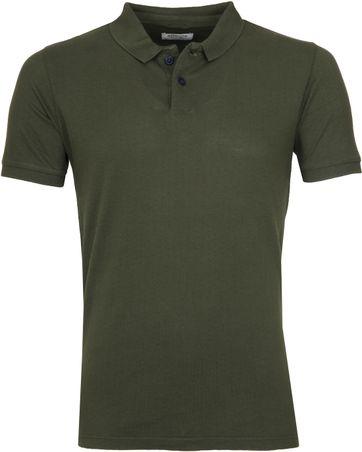 Dstrezzed Polo Shirt Polka Dot Army