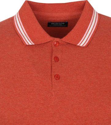 Dstrezzed Polo Shirt Popcorn Melange Red