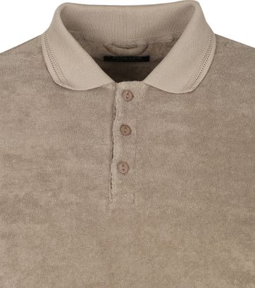 Dstrezzed Polo Shirt Toweling Brown
