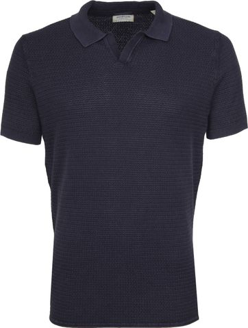 Dstrezzed Polo Structure Navy