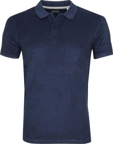 Dstrezzed Polo Towelling Navy