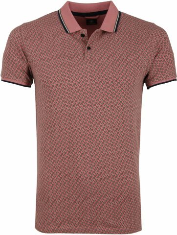 Dstrezzed Poloshirt Old Pink Pattern