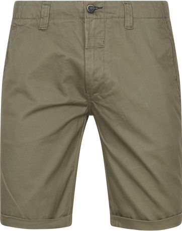 Dstrezzed Presley Chino Shorts Dark Green