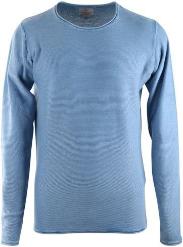 Dstrezzed Pullover Acid Blau