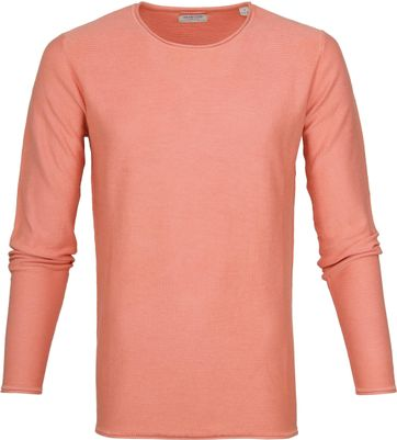 Dstrezzed Pullover Crew Acid Streifen Orange