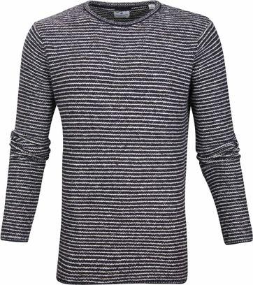 Dstrezzed Pullover Knit Dunkelblau