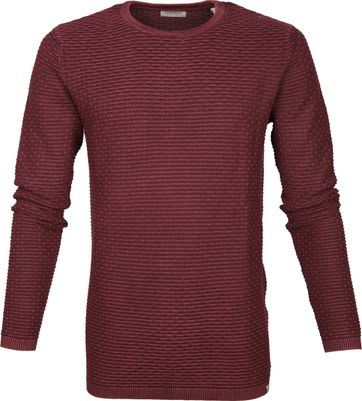 Dstrezzed Pullover Structure Red