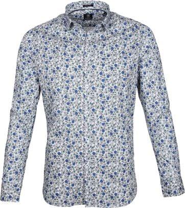 Dstrezzed Shirt Blau Blume