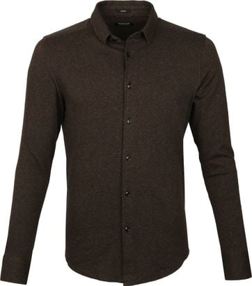 Dstrezzed Shirt Brown