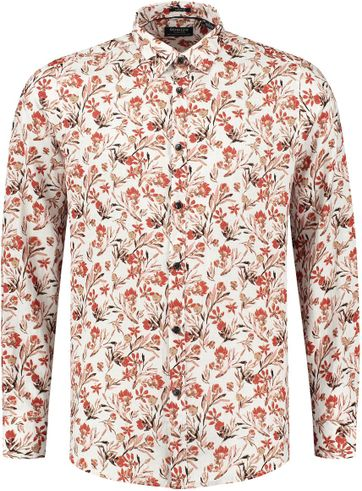 Dstrezzed Shirt Camo Painted Flower Red