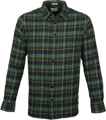 Dstrezzed Shirt Check Green