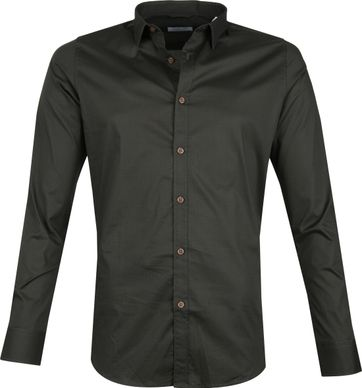 Dstrezzed Shirt Dessin Dark Green