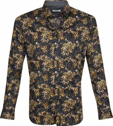 Dstrezzed Shirt Flowers Yellow