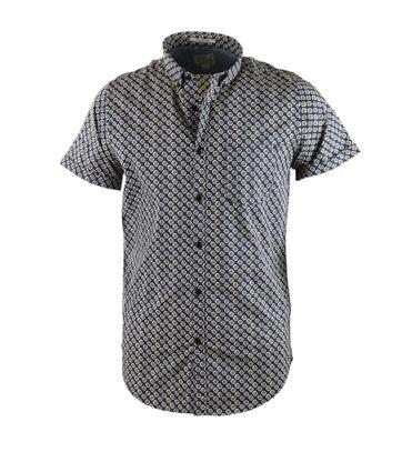 Dstrezzed Shirt Korte Mouw Donkerblauw