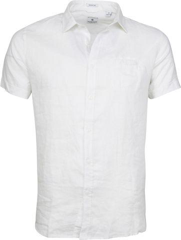 Dstrezzed Shirt Linen SS White
