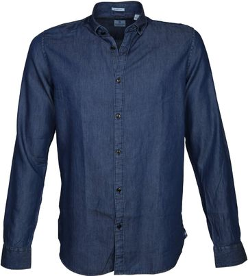 Dstrezzed Shirt Lt Denim