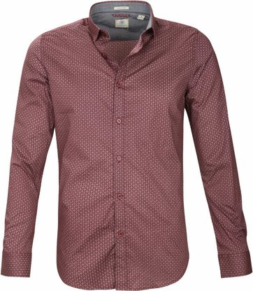 Dstrezzed Shirt Port Red