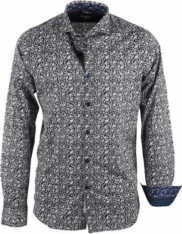 Dstrezzed Shirt Print Dark Navy