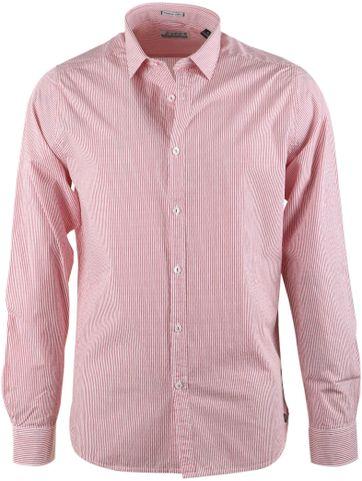 Dstrezzed Shirt Rood Streep