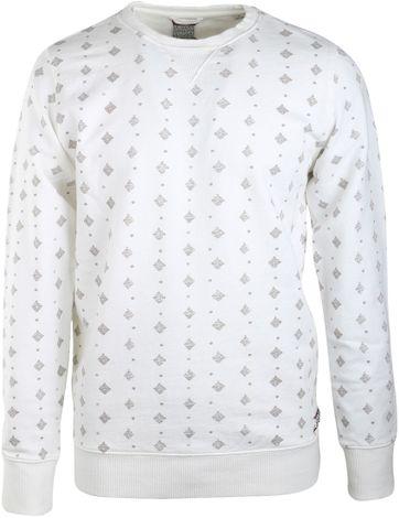 Dstrezzed Sweater Gebrochenes Weiß