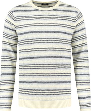 Dstrezzed Sweater Stripes Blue