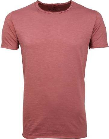 Dstrezzed T-shirt Altes Rosa
