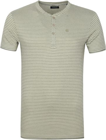 Dstrezzed T Shirt Block Stripe Grun