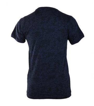 Detail Dstrezzed T-shirt Donkerblauw Print