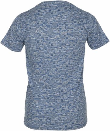 Detail Dstrezzed T-shirt Dunkelblau Eule