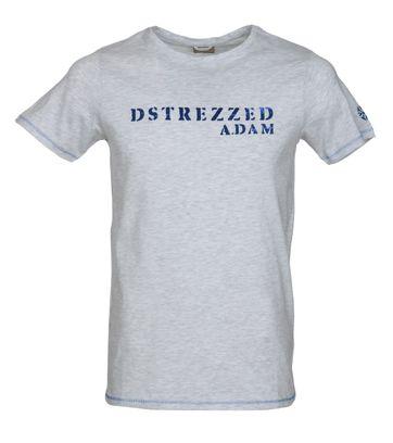 Dstrezzed T-shirt Grijs Melange