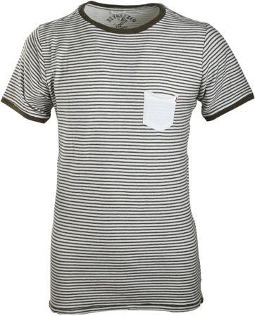 Dstrezzed T-shirt Grün Streifen