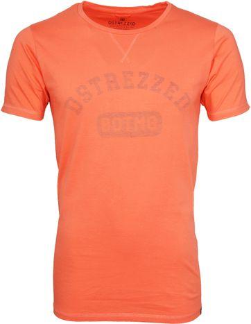 Dstrezzed T-shirt Logo Oranje
