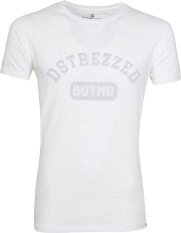 Dstrezzed T-shirt Logo White