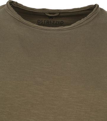 Dstrezzed T-shirt Mc Queen Donkergroen