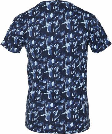 Detail Dstrezzed T-shirt Navy Camo