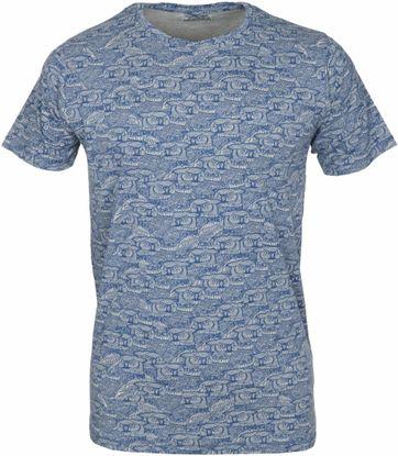 Dstrezzed T-shirt Navy Uil