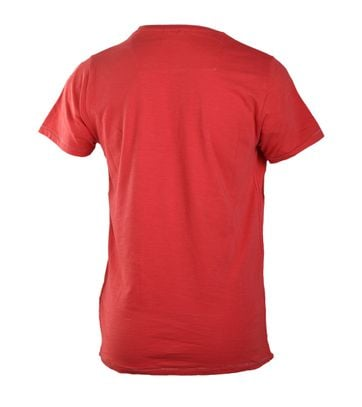 Detail Dstrezzed T-shirt Red Graphic